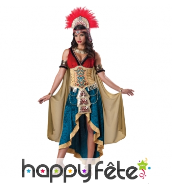 Véritable costume de reine maya