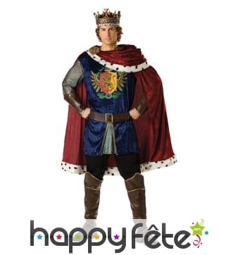 Véritable costume de Roi