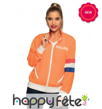 Veste Holland pour supportrice