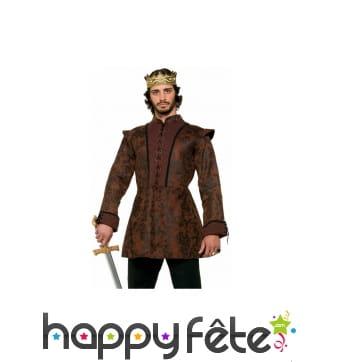 Veste marron médiévale