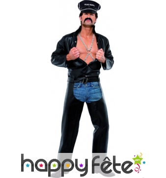 Costume Biker des Village People Licence