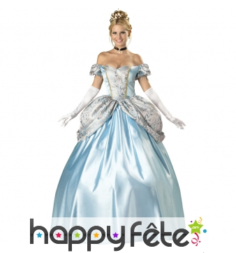 Véritable robe de princesse de conte de fée