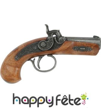 Vieux revolver derringer philadelphia