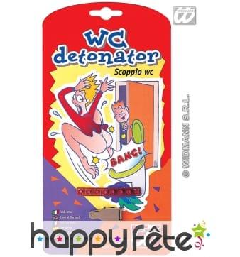 Wc detonateur