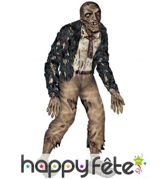 Zombie articulé en carton taille réelle 1m80