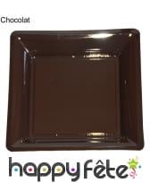 12 assiettes carrées en plastique, image 7