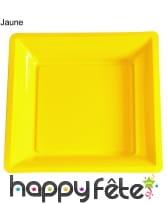 12 assiettes carrées en plastique, image 3