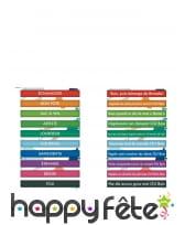 10 Bracelets à défis colorés, image 1