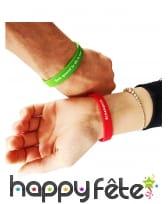 10 Bracelets à défis colorés