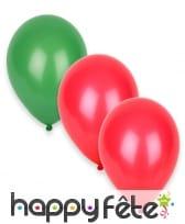12 Ballons aux couleurs du Portugal
