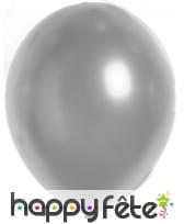 100 ballons coloris métalliques, 29cm, image 2