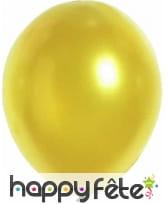 100 ballons coloris métalliques, 29cm, image 5