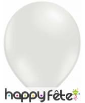 100 ballons coloris métalliques, 29cm, image 7