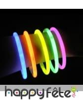 100 bracelets lumineux de 20cm