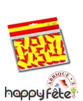 150 confettis de table drapeaux Espagne, image 1
