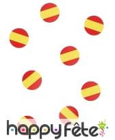 150 confettis de table drapeaux Espagne, image 2