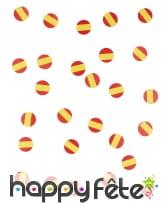 150 confettis de table drapeaux Espagne, image 3