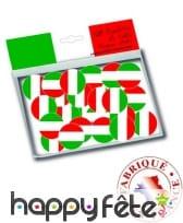 150 confettis de table drapeaux Italie, image 1