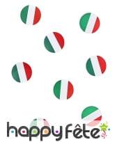 150 confettis de table drapeaux Italie, image 2