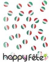 150 confettis de table drapeaux Italie, image 3