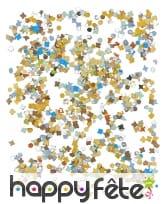 100g de confettis multicolores en papier, image 1