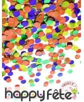 100g de confettis multicolores en papier, image 2