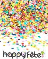 100gr de confettis fluo multicolores