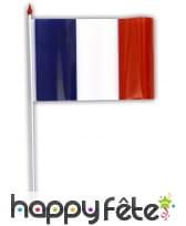 100 drapeaux en plastique de 9,5 x 16 cm, image 1