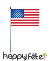 100 drapeaux en plastique de 9,5 x 16 cm, image 3