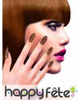 12 Faux ongles longs pointus adhesifs femme, image 8