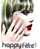 12 Faux ongles longs pointus adhesifs femme, image 12