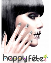 12 Faux ongles longs pointus adhesifs femme, image 15
