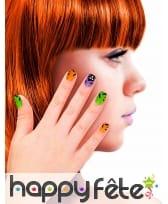 12 Faux ongles motifs Halloween pour enfant, image 2