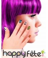 12 Faux ongles motifs Halloween pour enfant, image 3