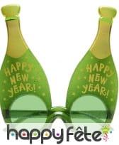 12 lunettes bouteille de mousseux