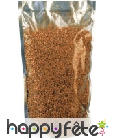 1 litre de granulats décoration - cuivre
