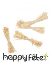 12 minis fagots de paille décoratifs