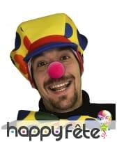 12 nez de clown rouges en mousse