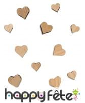 12 petits coeurs en bois de 3 et 2cm, image 2