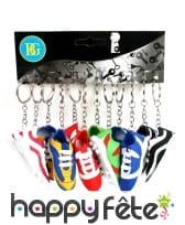 12 portes clés chaussures de foot