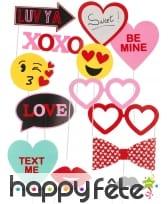 13 Photobooth sur le thème de l'amour