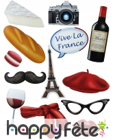 13 photobooth sur le thème de la France