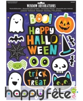 17 Stickers amusants de Halloween