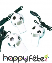 12 Sifflets en forme de ballon de foot