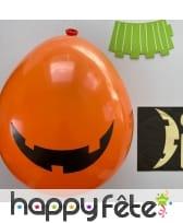 2 ballons Halloween à décorer, image 2