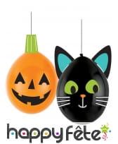 2 ballons Halloween à décorer