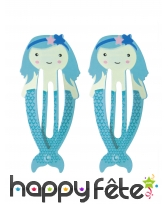 2 Barettes pour cheveux sur le thème de la mer, image 3