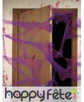 20g de toile colorée avec araignées, image 3