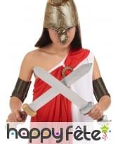 2 épées de gladiateur pour enfant, 57cm, image 1