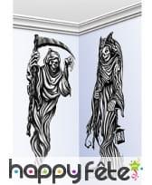 2 faucheuses de mur décorative, 150cm